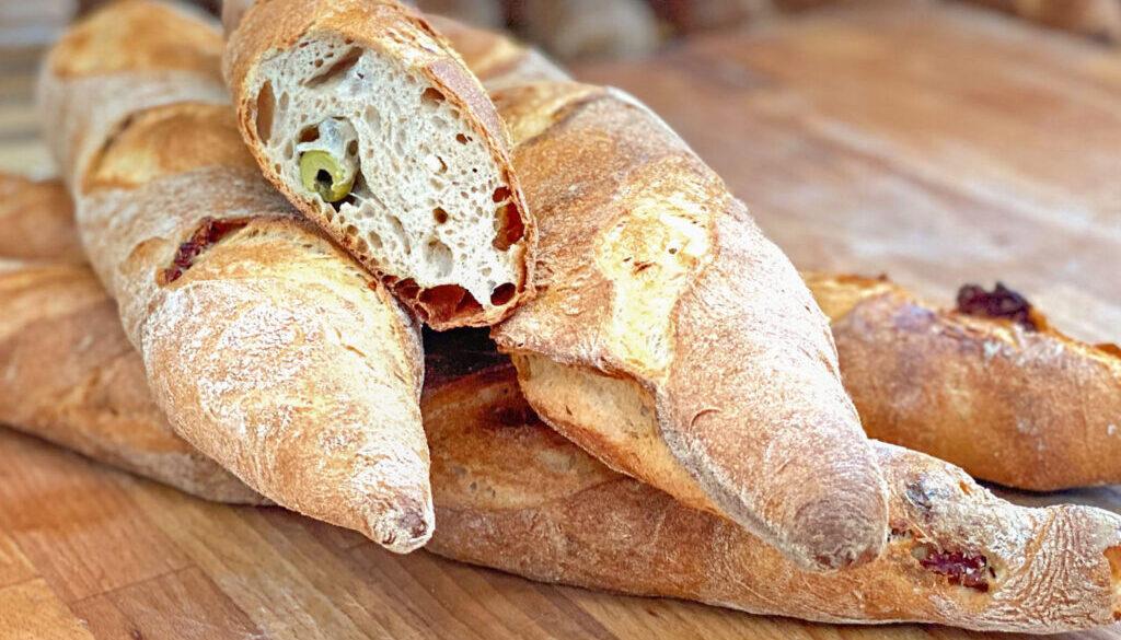 Toskana Baguette - Olives&Feta